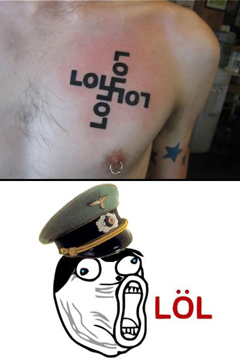Lol - LOL Tattoo