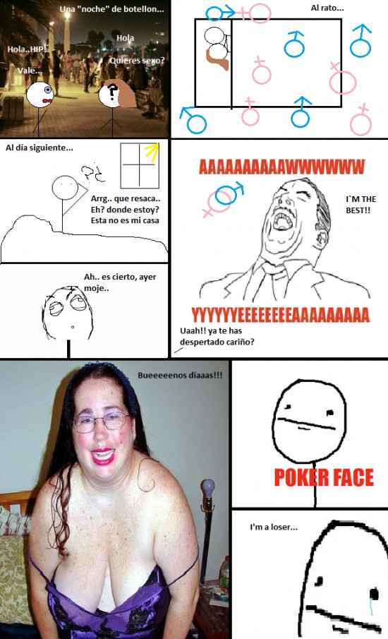 Pokerface - I'm a Loser
