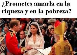 Enlace a Pobre boda real británica