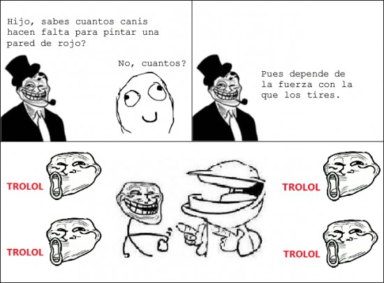Trolldad - Trolleando canis