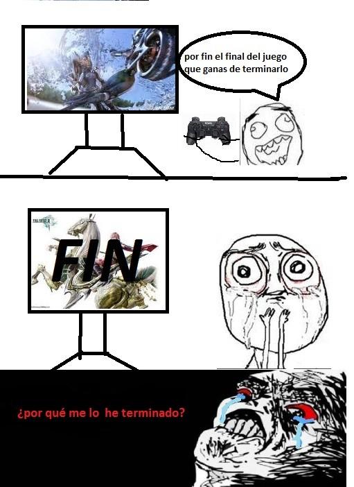 fin,jugar,videojuego