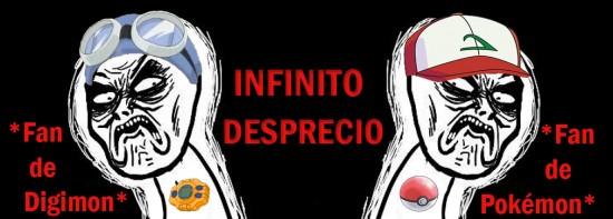Infinito_desprecio - Digifan vs Pokefan