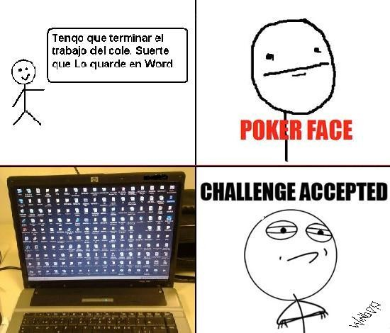 acepted,chalenge,Documento,Face,iconos,pc,Poker,Word