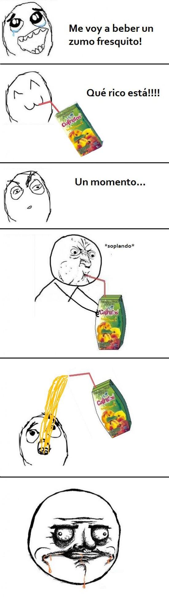 Me_gusta - Guarrerías con los zumos