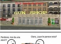 Enlace a La tienda de armas