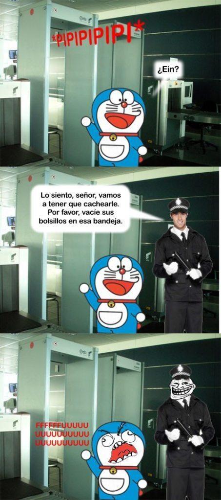 Ffffuuuuuuuuuu - Doraemon en el Aeropuerto