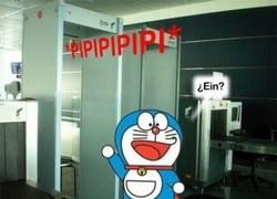 Enlace a Doraemon en el Aeropuerto