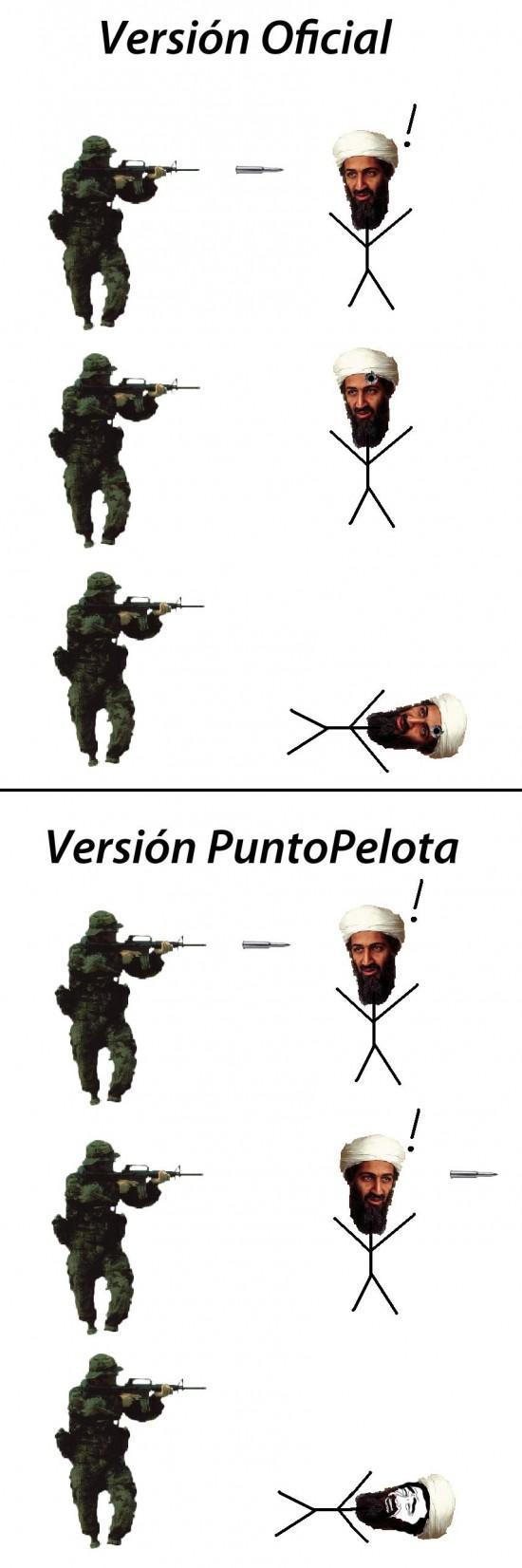 Yao - En PuntoPelota aseguran que la bala no toca a Bin Laden