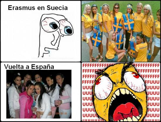 Ffffuuuuuuuuuu - Erasmus en Suecia