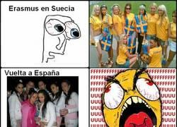 Enlace a Erasmus en Suecia