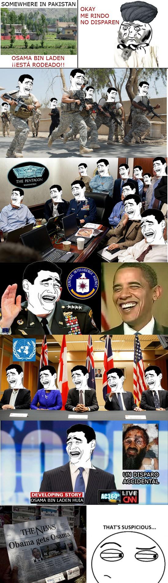 bin laden,disparar,matar,Osama