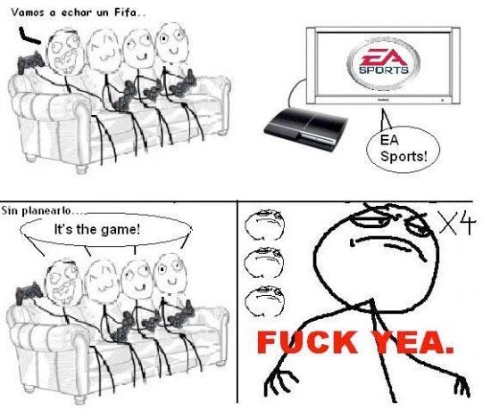 Fuck_yea - EA Sports, la coletilla que todos sabemos de memoria
