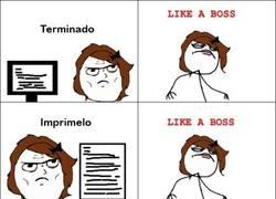 Enlace a Like a boss