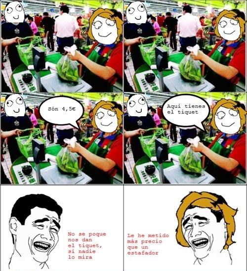 Yao - Estafa en el supermercado