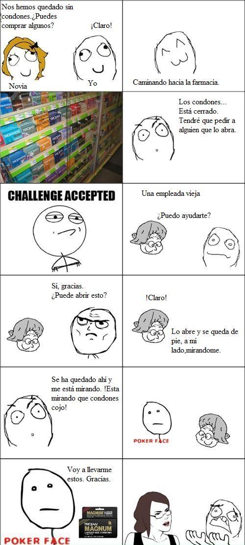 Pokerface - Comprando condones