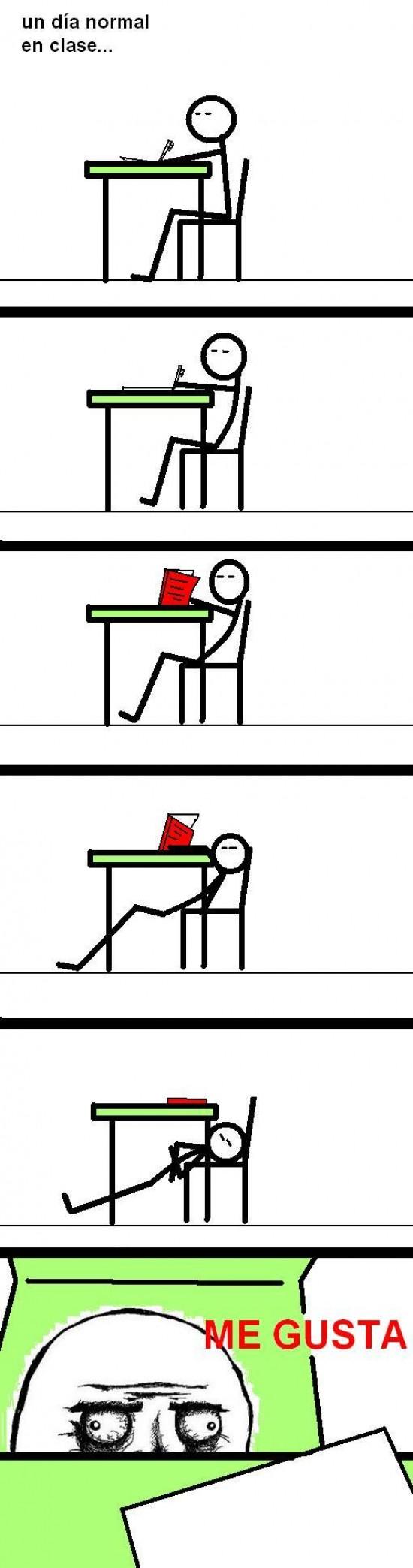 aula,clase,colegio,instituto,me gusta,meme,mesa
