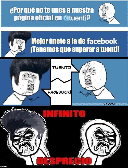 Infinito_desprecio - Infinito Desprecio. Redes sociales
