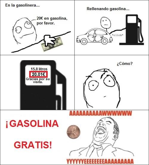 Aww_yea - ¡Gasolina gratis!