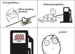 Enlace a ¡Gasolina gratis!