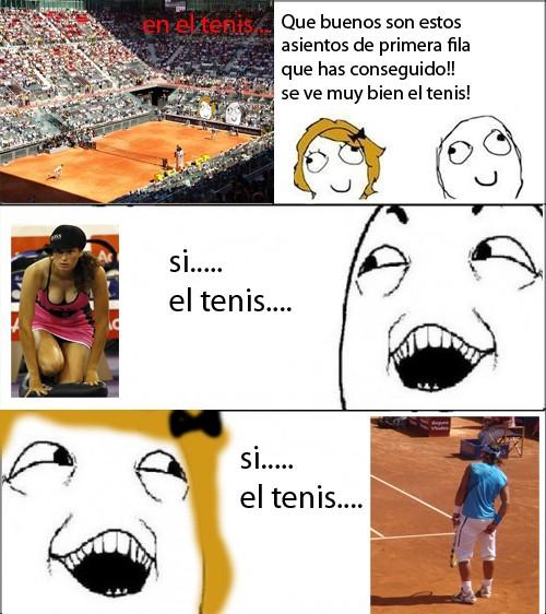 Si_claro - En el tenis
