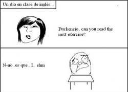 Enlace a En clase de inglés...