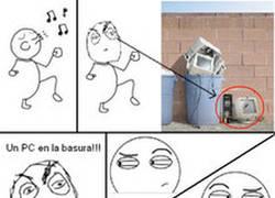 Enlace a PC en la basura