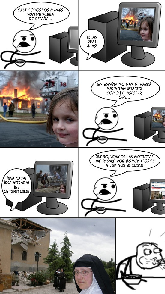 Cereal_guy - Disaster Monja