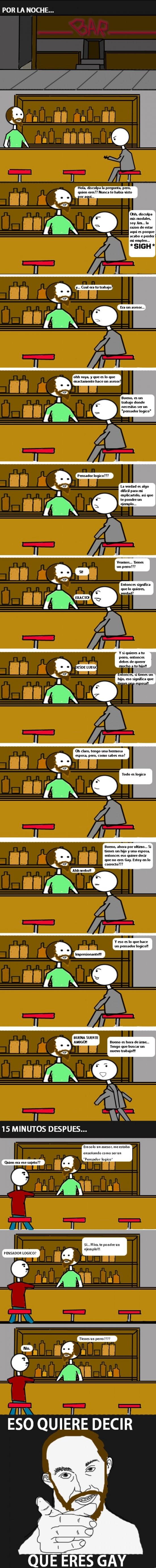 Otros - El Asesor en el bar