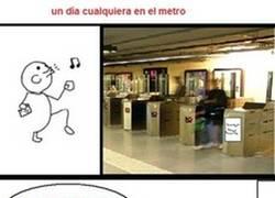 Enlace a Metro averiado