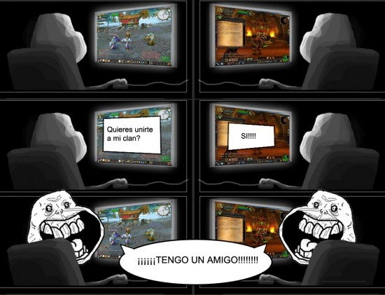 Forever_alone - Frikis del wow