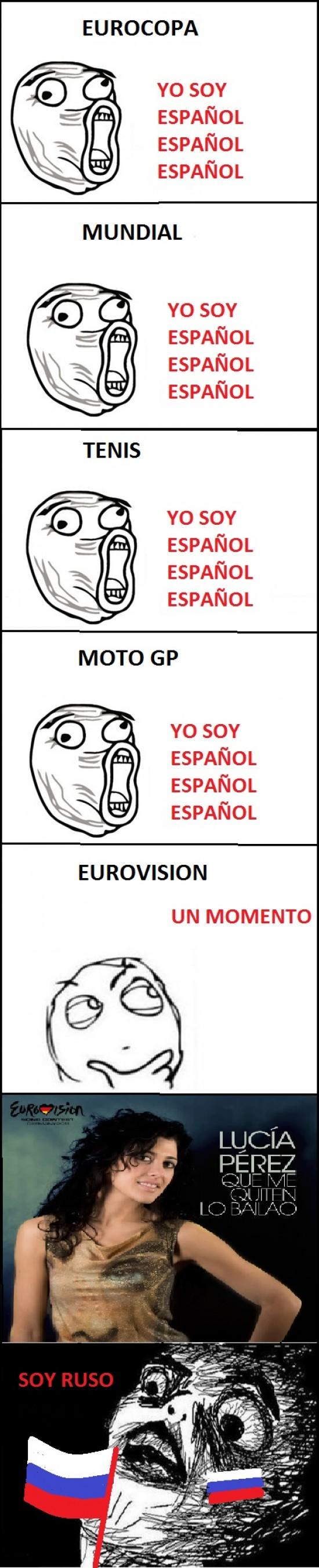 español,eurovision,Lucia,mundial,perez