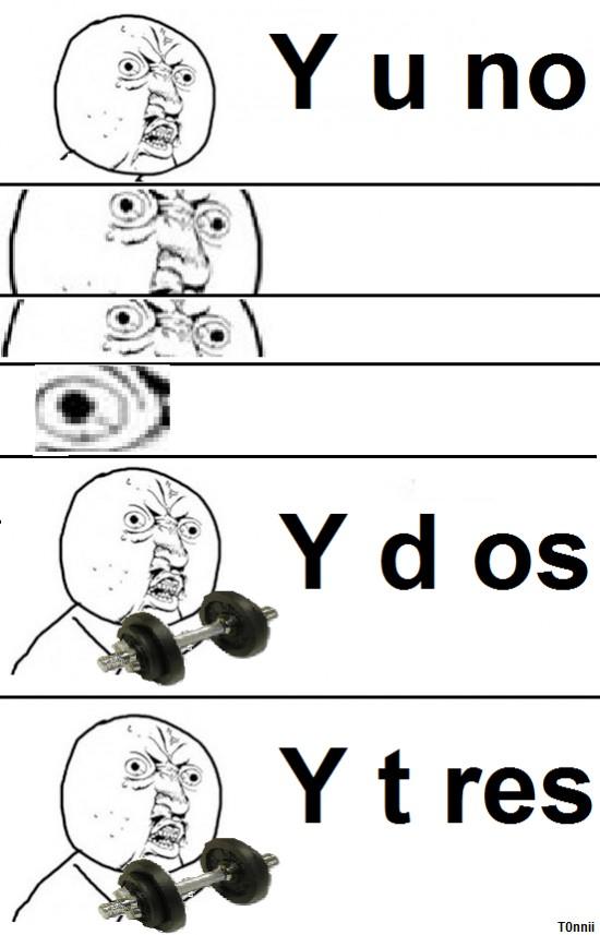 Y_u_no - Y uno, y dos, y tres
