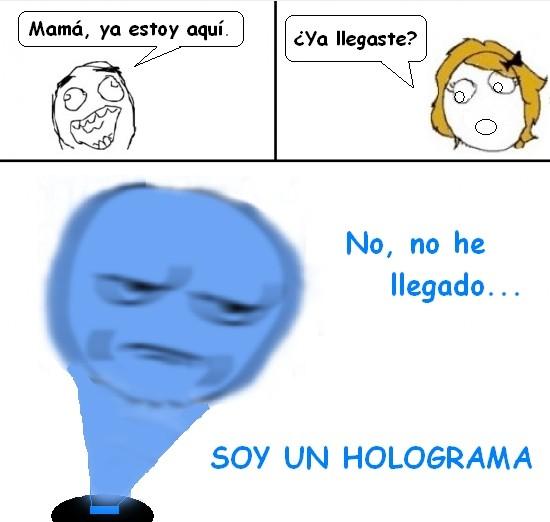 Kidding_me - Feel like an holograph