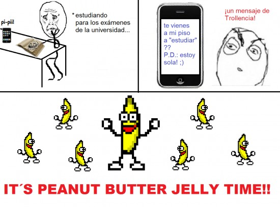 Otros - Peanut butter jelly time!!
