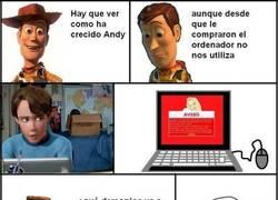Enlace a Lo que no viste de Toy Story