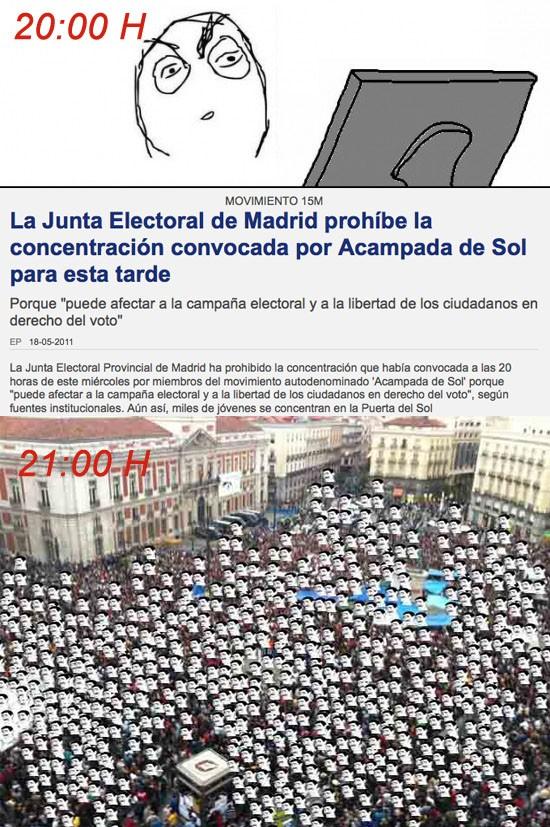 acampada,junta electoral,madrid,sol,yao ming