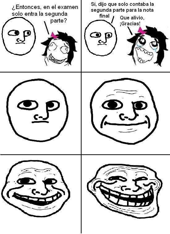 Trollface - Trolleando con los finales