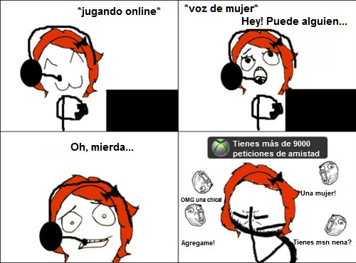 chica,facepalm,gammer,que he hecho