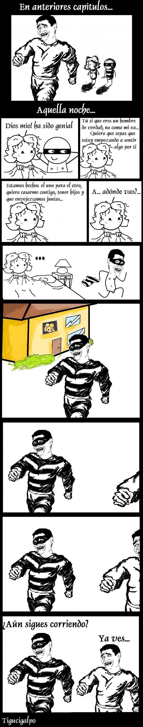 correr,espabilar,ladrón,listo,novio