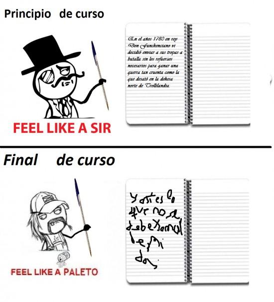 Feel_like_a_sir - Evolución