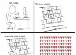Enlace a Maldita pizza