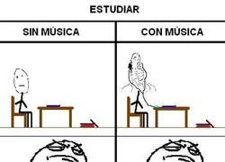 Enlace a Estudiar con música