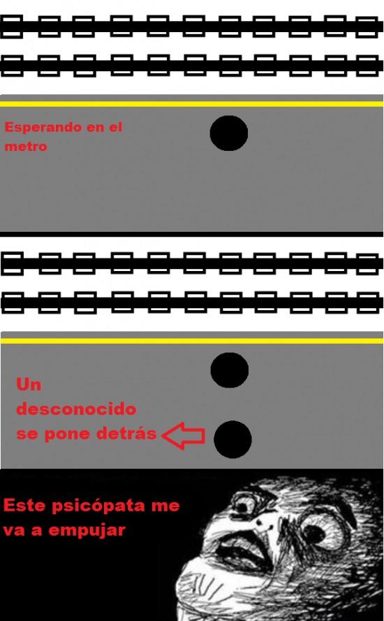Inglip - Pensamientos en el metro