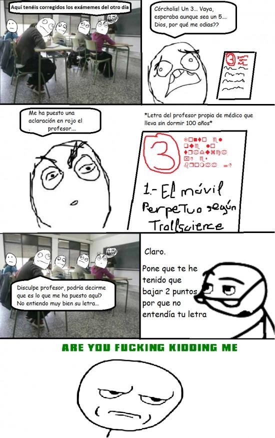 Kidding_me - Ventajas de ser profesor