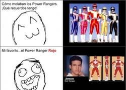 Enlace a Los colores de los Power Rangers