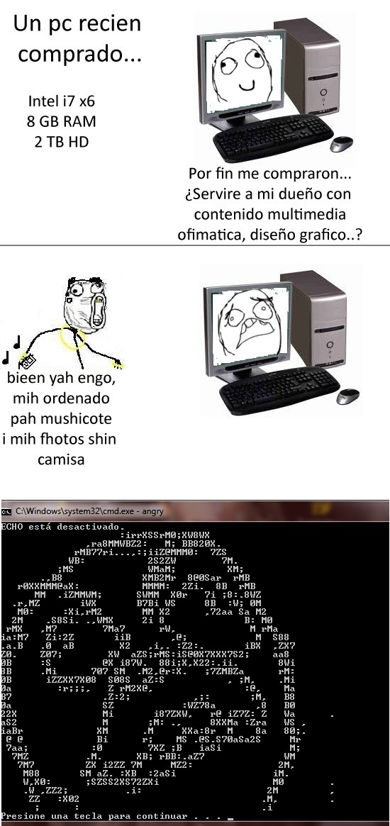 angry,cani,ffuu,pantalla,pc,rage