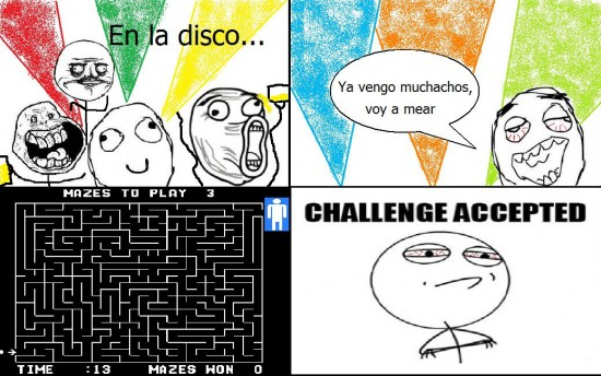 Challenge_accepted - Mi primera borrachera