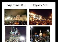 Enlace a Argentina 2001 - España 2011