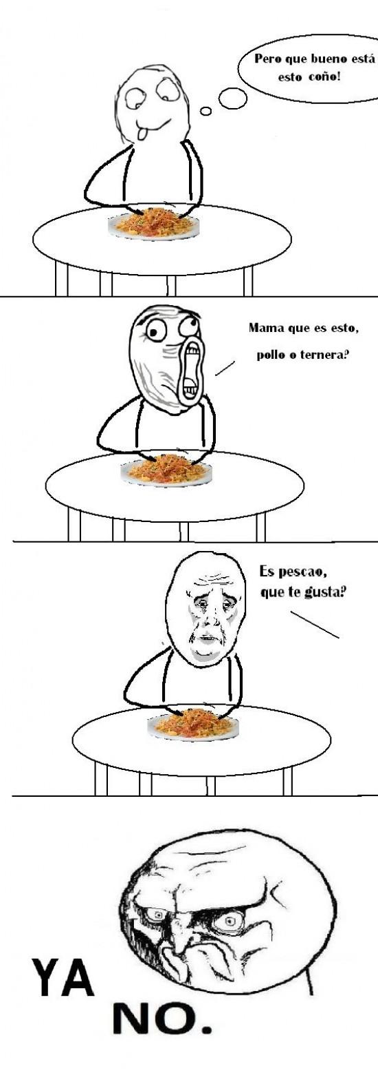 No - ¡A Cenar!