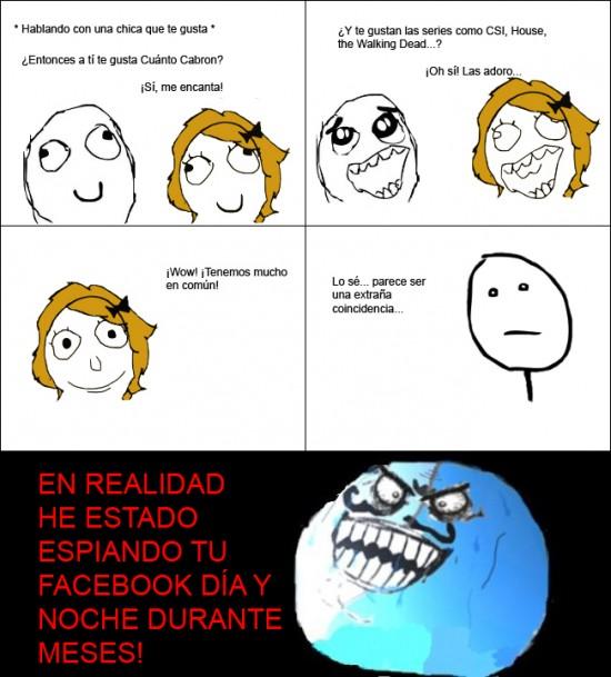 Menti - Espiando en el facebook